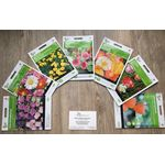 "Flower seeds package ""medium high"""