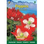 Poppy Flowerseeds Danish Flag