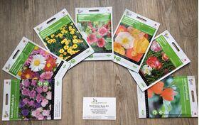 "Flower seeds package ""medium high"""