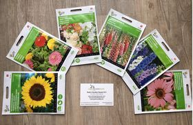 Flower seeds package high