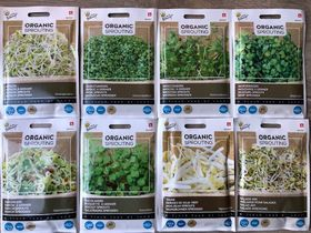 AA Organic Sprouting Seeds Packet