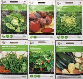 Vegetable seeds starter kit