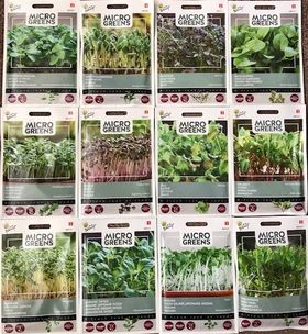 Microgreens Seeds Pack Complete