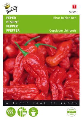 Hot Pepper Bhut Jolokia Red