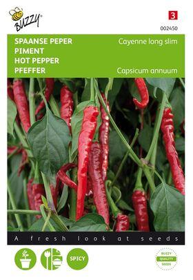 Pepper Cayenne Long Slim Red