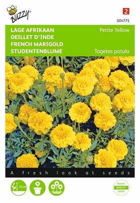 yellow french marigold flower seeds
