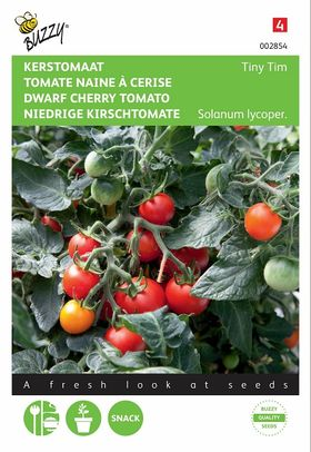 Dwarf Cherry Tomato seeds Tiny Tim