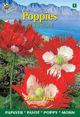 Poppy Flowerseeds Danish Flag