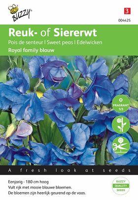 Royal Family Blue Sweat Peas seeds