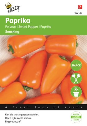Sweet Pepper seeds (mini) Orange snacking
