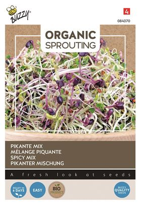 Organic sprouts Hot salad mix Cut and Eat
