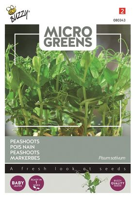 Microgreens seeds Peashoots