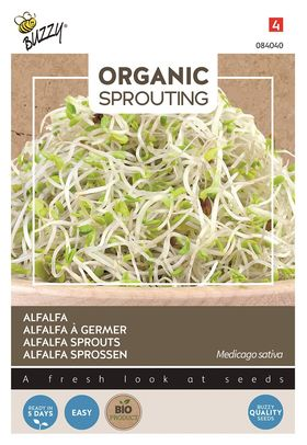 Organic Alfalfa sprouts Cut and Eat