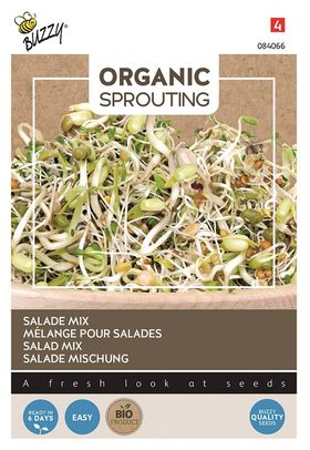 Organic sprouts Salad Mix Cut and Eat