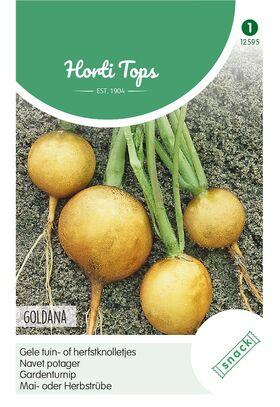 Garden Turnip yellow, white redhead