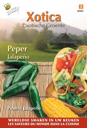 Pepper seeds Jalapeño