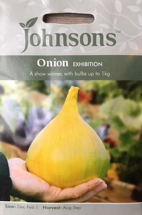 Onion Seeds Exhibition