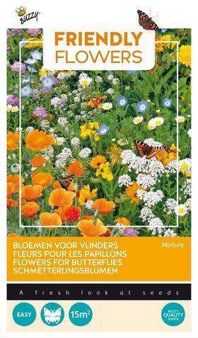 Friendly Flowers Attracts Butterflies