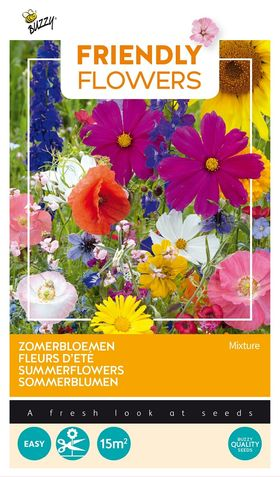 Friendly Flowers Floral Meadow